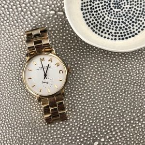 Marc Jacobs Gold Baker Bracelet Watch